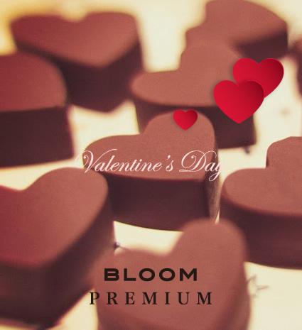 ブルームプレミアム店 バレンタイン企画♥